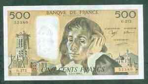 TOP QUALITÉ !! BILLET DE 500 FRANCS PASCAL 3 MARS 1988 NEUF!!!