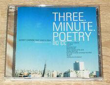 Three Minute Poetry – Slowly Learning That Love Is Okay (2001) Emo, CD, gebr.
