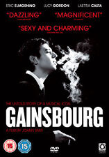 GAINSBOURG - DVD - REGION 2 UK