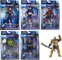 "8"" Legends Thanos Figure Avengers: Endgame Hulk Captain Iron Man Toy Kids Gift"
