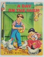 A DAY ON THE FARM by Alf Evers (1948) First Edition 25¢ cover price, 8360:25