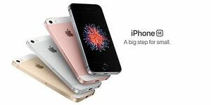 "Brand New Apple iPhone SE - 16/64GB 4.0"" GSM Unlocked Smartphone in Sealed Box"