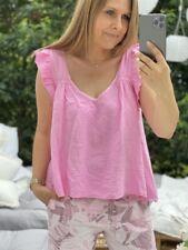 Musselin Top in Pink One Size bis Gr 42 NEU (O2)