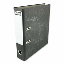 5 X A4 LEVER ARCH FILE FOLDER RING BINDER HIGH QUALITY FILES STORAGE OFFICE NEW