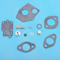 Carburetor Carb Rebuild Kit Fit Briggs & Stratton 495606 494624 3-5HP Engine