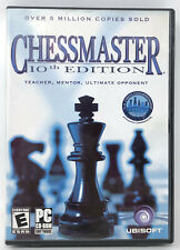 Chessmaster 10th Edition for Windows XP - COMPLETE IN BOX w/MANUAL & Discs