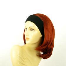 Stirnband Perücke frau mit lang Kupfer intensive MADY 350