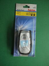 hama Telefontasche Panasonic GD87 Leder Handytasche Handyhülle Schutzhülle klar