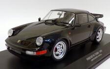 Minichamps 1/18 Scale 125 069104 - 1990 Porsche 911 Turbo - Black