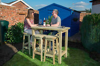 Anchor Fast Devon High Table & Stool Set - New For 2017 - !!! Offer Price !!!