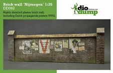 DioDump DD062 Brick wall 'Nijmegen' 1:35 scale military ww2 diorama accessory