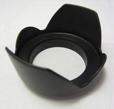 Used Plastic screw in mount Flower Petal 58mm Lens Hood for 18-55mm IS EF-S
