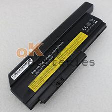 9 Cell 7800mAh Battery for IBM Lenovo Thinkpad X220 X220i OA36238 Black