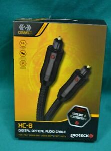 DIGITAL OPTICAL AUDIO CABLE XC-6  1.8m XBOX ONE PS4, XBOX 360 HDTV