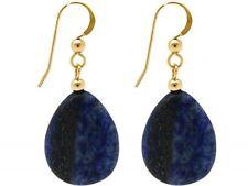 Lapis Lazuli Costume Earrings