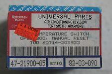 Universal Parts 47-21900-05 Furnace Disc Limit Switch