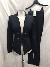 TAHARI BY ARTHUR LEVINE PANT SUIT/INSEAM 32'/NEW WITH TAG/RETAIL$280/SIZE 12/BLK
