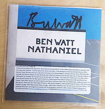 BEN WATT SIGNED 1 Track PROMO CD SINGLE 'Nathaniel' EVERYTHING BUT THE GIRL