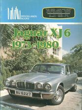 JAGUAR XJ6 SALOON COUPE SERIES II & III ( 1973 - 1980 ) PERIOD ROAD TESTS BOOK