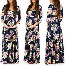 1c81d6d5094 Pregnant Women Maternity Maxi Long Gown Wrap Dress Photography Photo Shoot  US