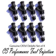 OEM Delphi Fuel Injectors Set (8) 25323974 for Cadillac Chevy GMC 4.8 5.3 6.0 V8