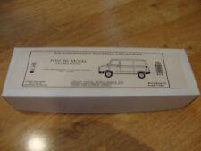 L104a Post-Tel White Model Kit - Jersey Postal Board Sherpa 200 Panel Van 1/48