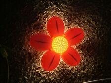 Ikea pink flower wall lamp