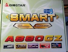 BIOSTAR A880GZ Ver 6.1 MicroATX motherboard AMD and Windows 7 support