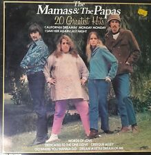"The Mama's and The Papa's ""20 Greatest Hits"" 1998 MFP 50493 A1/B3 Excellent cond"