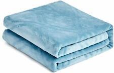 Super Soft Lightweight Flannel Fleece Throw Blanket Microfiber Velvet Cozy Warm