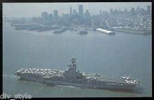 USS Oriskany CVA-34 postcard US Navy ship aircraft carrier (card2)