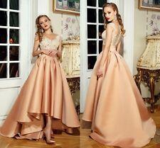 Brautkleider Hochzeitskleid Ärmellos Vorne kurz hinten Lang Abendkleid Ballkleid