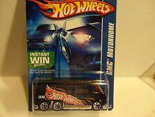 2006 Hot Wheels #208 Black GMC Motorhome w/5 Spoke Wheels