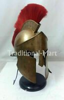 300 HELMET SPARTAN KING LEONIDAS MOVIE REPLICA HELMET MEDIEVAL ROMAN SCA GIFT
