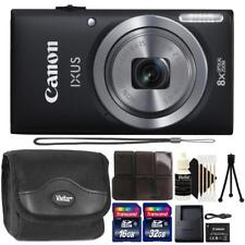 Canon IXUS 185 / ELPH 180 20MP Digital Camera Black and Accessory Kit