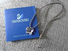 GENUINE SWAROVSKI CRYSTAL BUTTERFLY NECKLACE