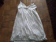 robe blanche bretelles pimkie L 40/42