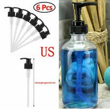 Plastic Replacement Soap Liquid Pump Lotion Dispenser Bottle Head Tube Mason Jar