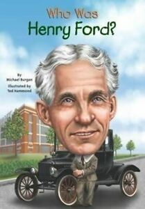 """""""Who Was Henry Ford?"""" Book - 112 Pages of Henry Ford History * FREE SHIPPING!"""