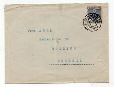 Japan 1900's cover posted to Zurich Switzerland