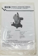 Ryobi c356 Manual Still Sealed Mitre Saw