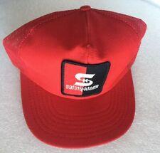 NOS VINTAGE 1980s SAFETY -KLEEN Mesh Snapback TRUCKER HAT Cap MADE IN USA