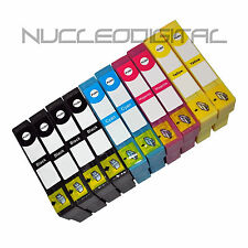 10 tintas COMPATIBLES  NON OEM T18 XL para  Epson Expression Home XP-325 XP225