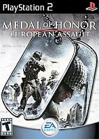 Medal of Honor: European Assault (Sony PlayStation 2 PS2, 2005)  Game