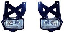 2001 2002 2003 2004 Ford Escape Driver Passenger Fog Light Pair Set New