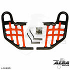 KFX 400 KFX400 Kawasaki   Nerf Bars  Alba Racing   Black bar Red nets 206 T1 BR