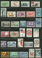 US Stamps Used Set, 52 stamps from 1958 to 1962 Sc# 1112-1207  (not inclusive)