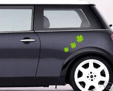 00054 Adesivi Mini Cooper Smart 500 Quadrifogli 28x10 cm