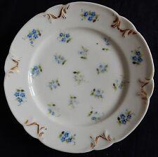 / Assiette en Porcelaine de Paris XIXè (Petites fleurs) (n°3)