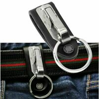 Quick Release Stainless Detachable Key Chain Belt Clip Ring Holder Keyring 2020